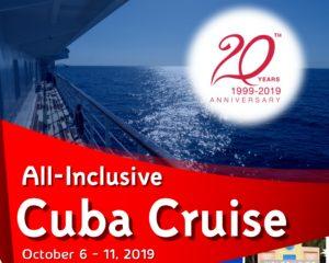 Cuba Cruise - 20th Anniversary Celebration @ Cuba