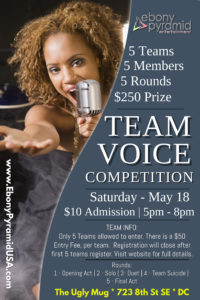 Team Voice Competition @ The Ugly Mug